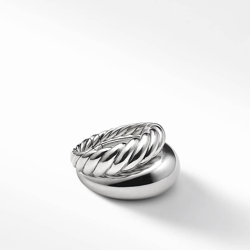 Pure Form Two Row Ring, 17mm