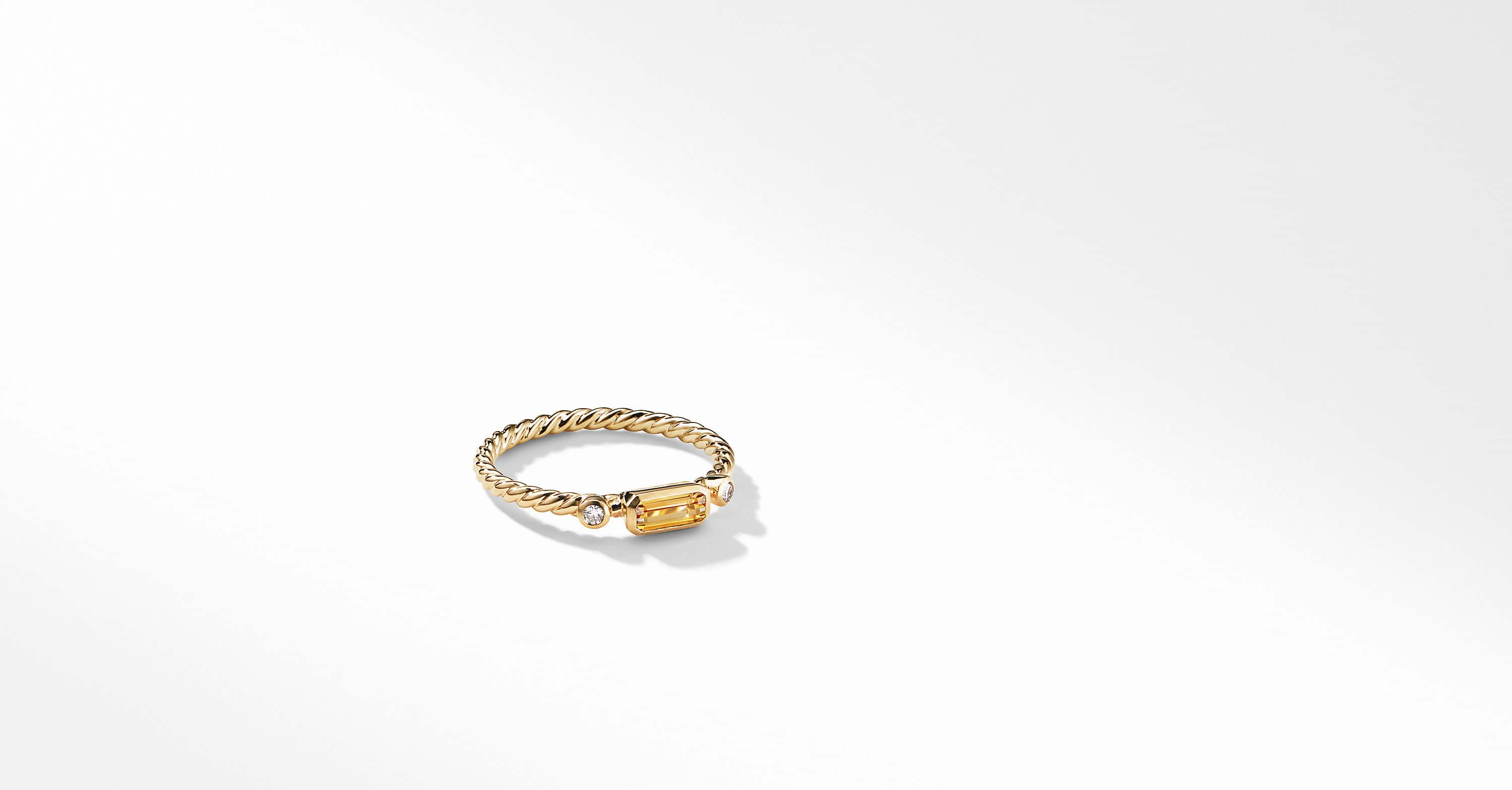 Bague Novella en or jaune 18K
