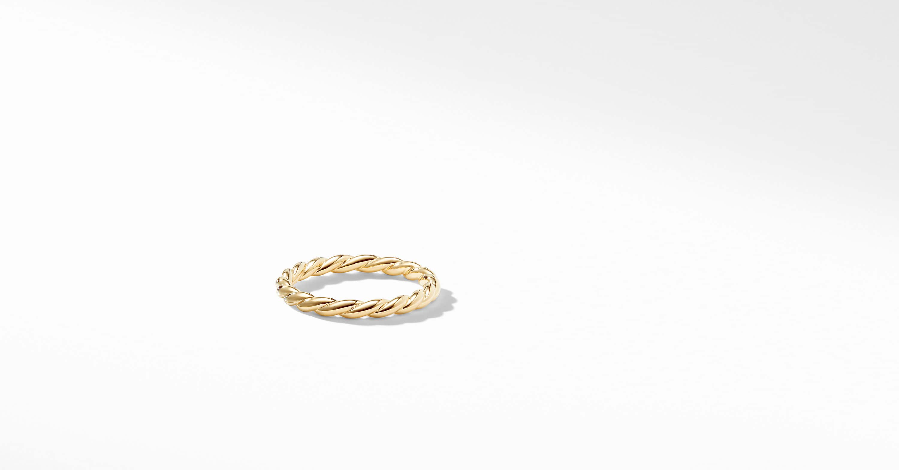 Paveflex Ring in 18K Gold