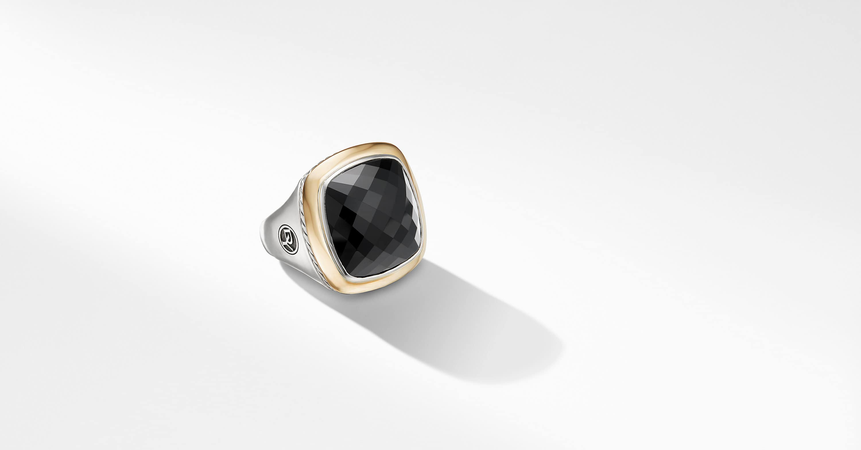 Albion Statement Ring with 18K Gold, 18mm