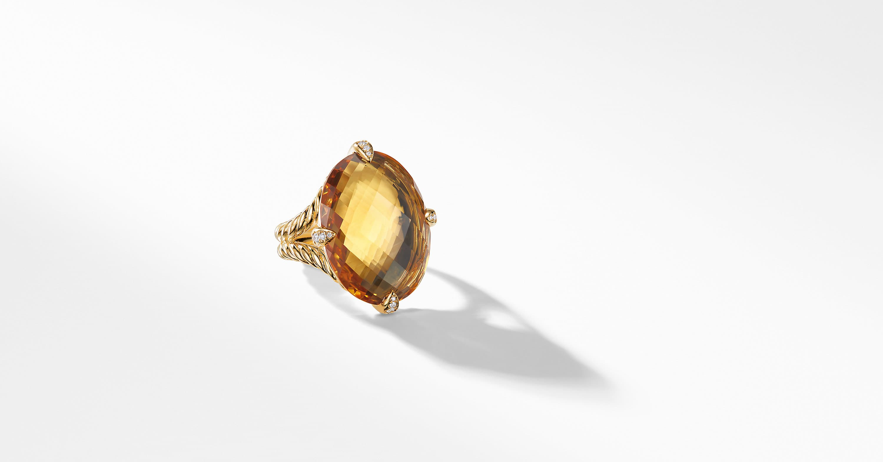 Chatelaine Statement Ring in 18K Gold