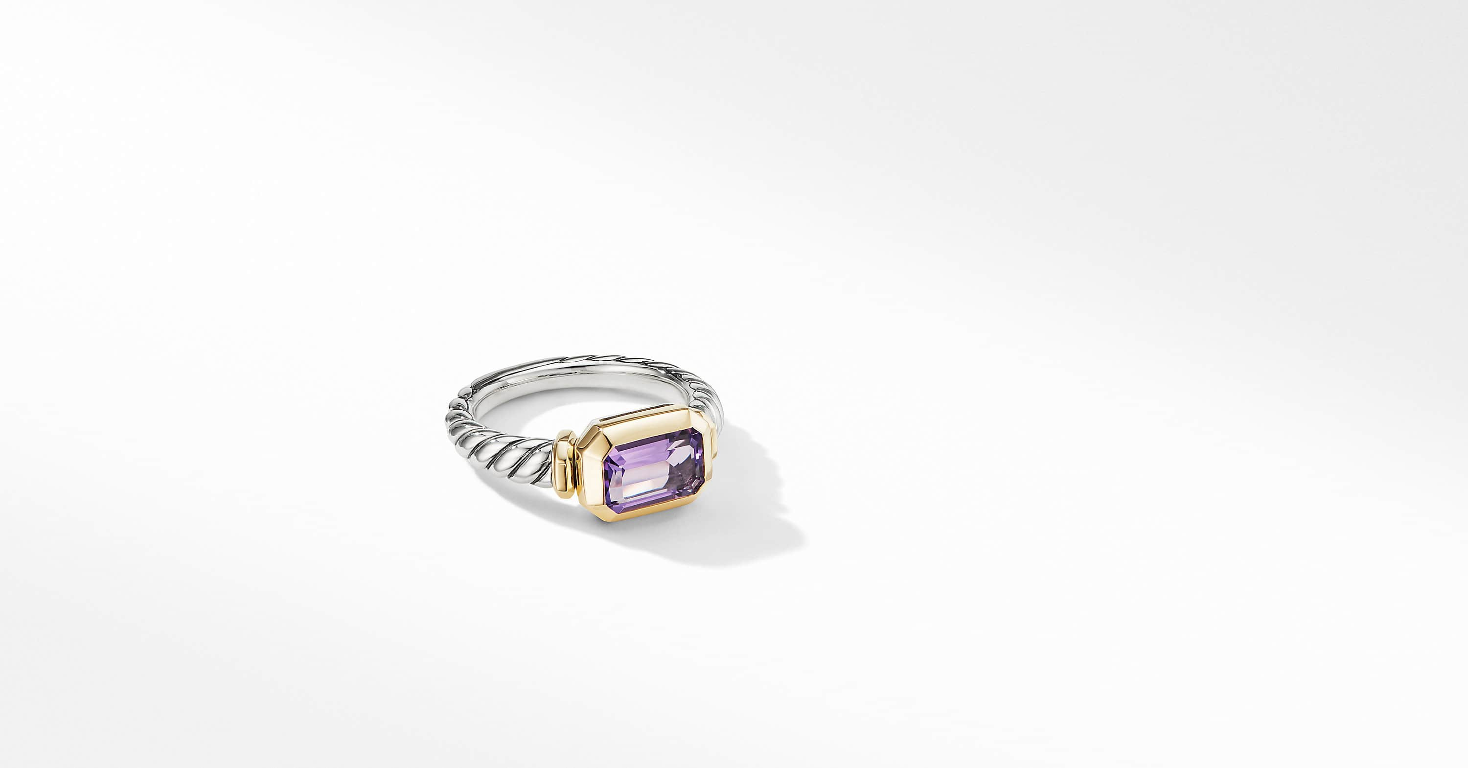 Novella Ring with 18K Yellow Gold