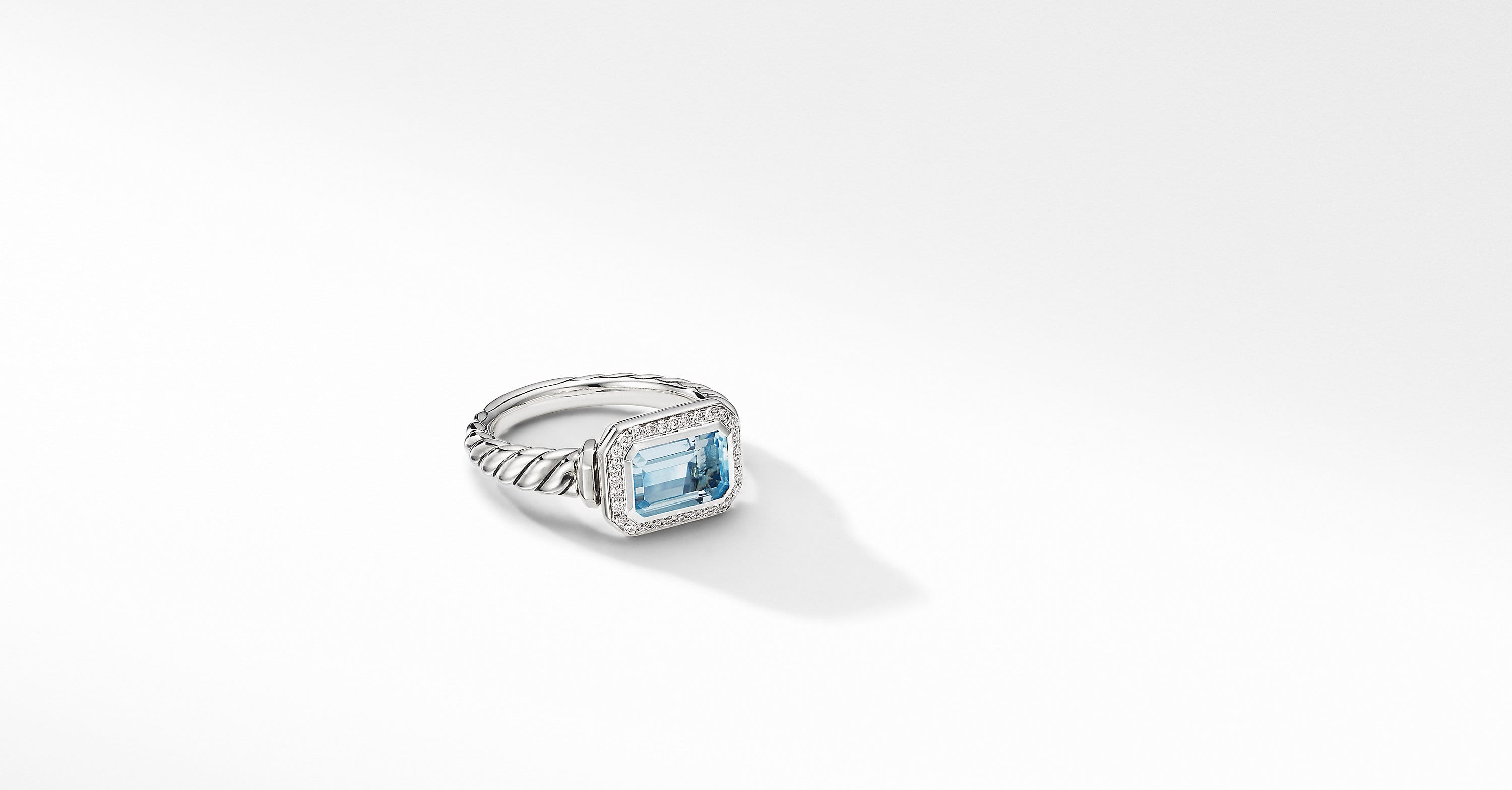 Novella Ring with Pavé