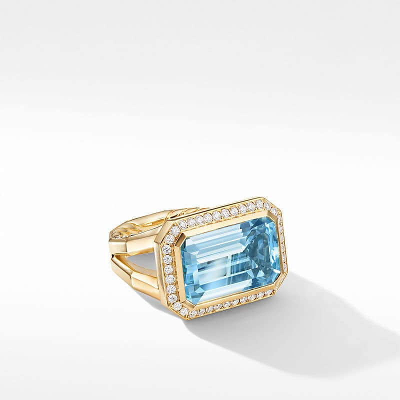 Novella Statement Ring in 18K Yellow Gold with