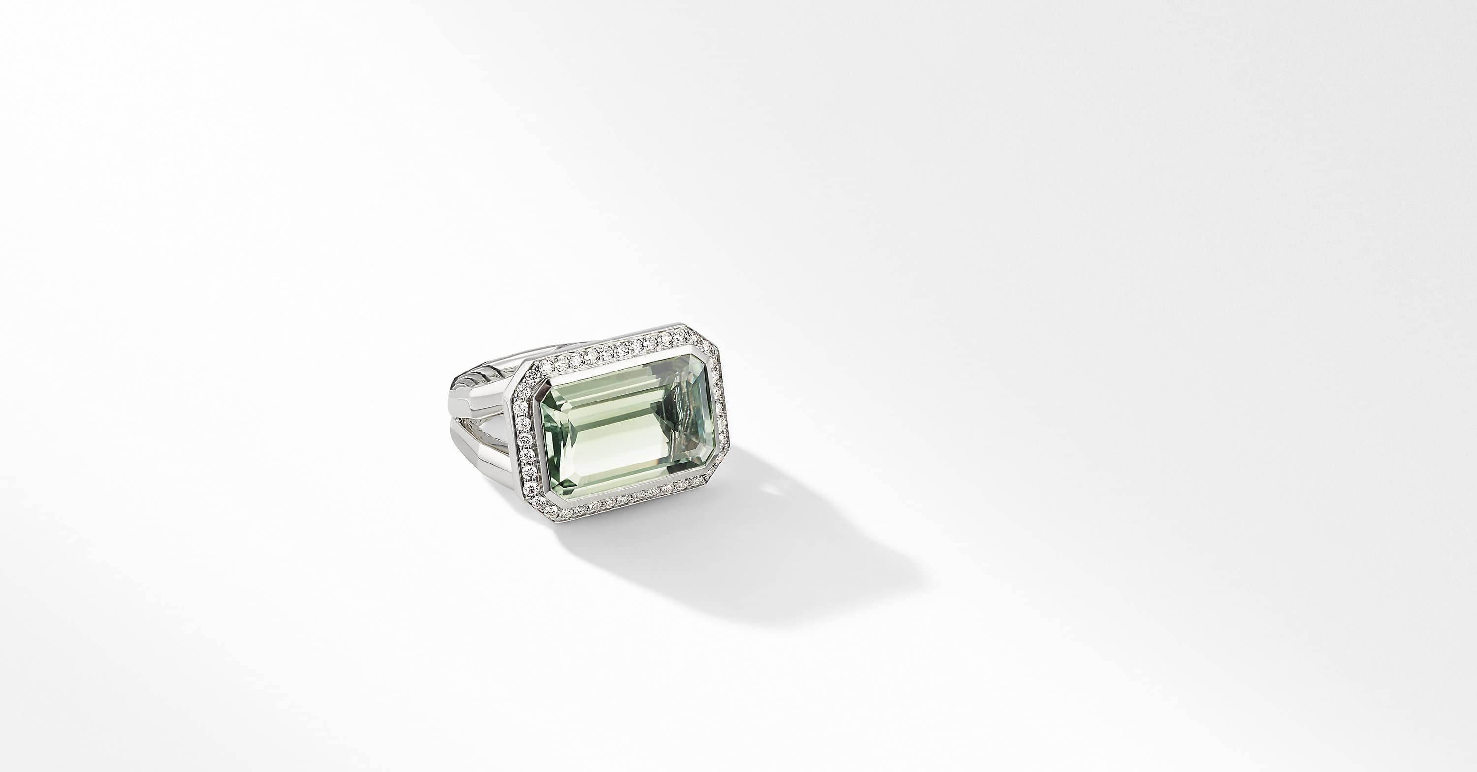 Novella Statement Ring with Pavé, 17mm