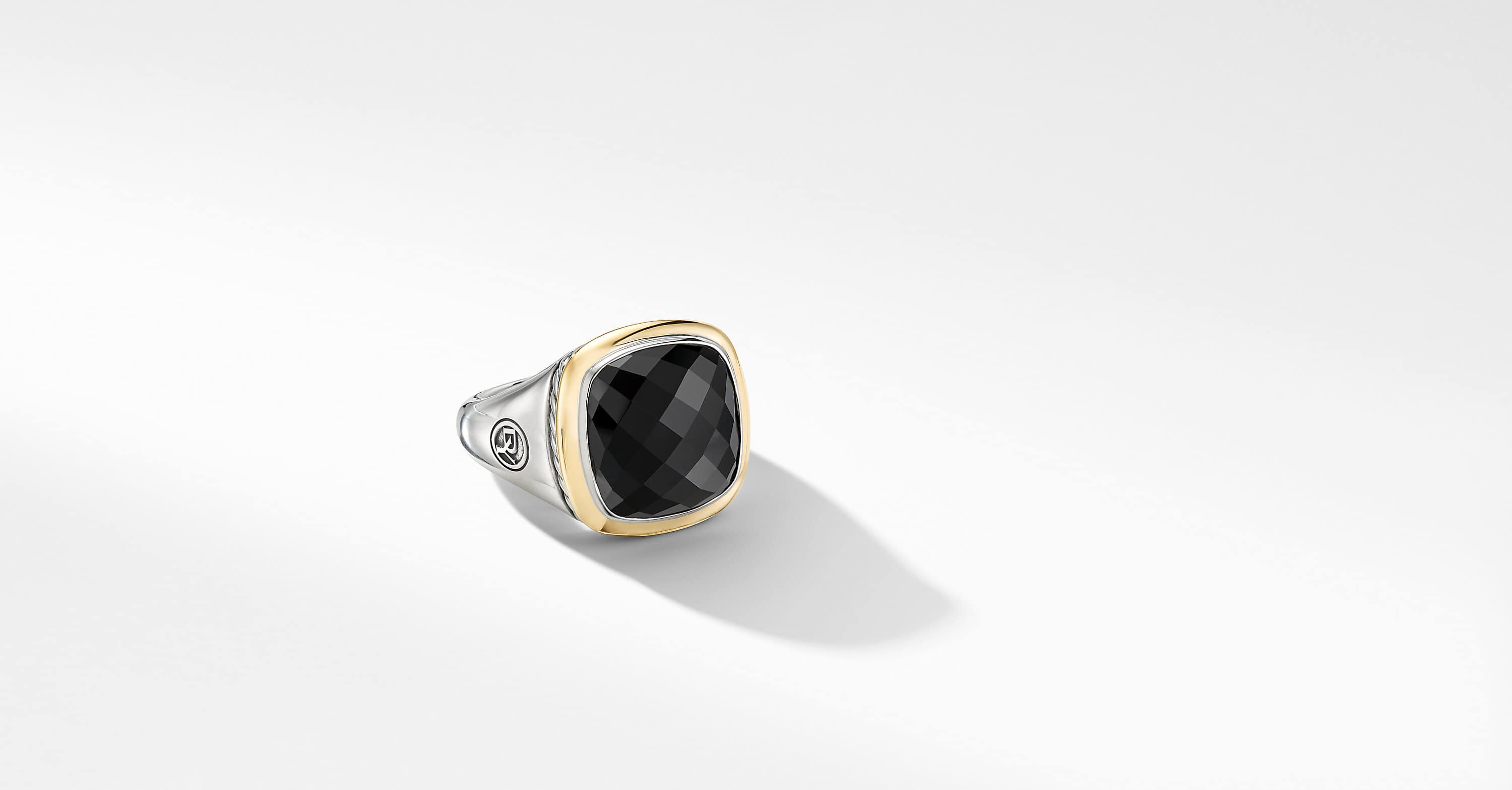 Albion Ring with 18K Yellow Gold, 14mm