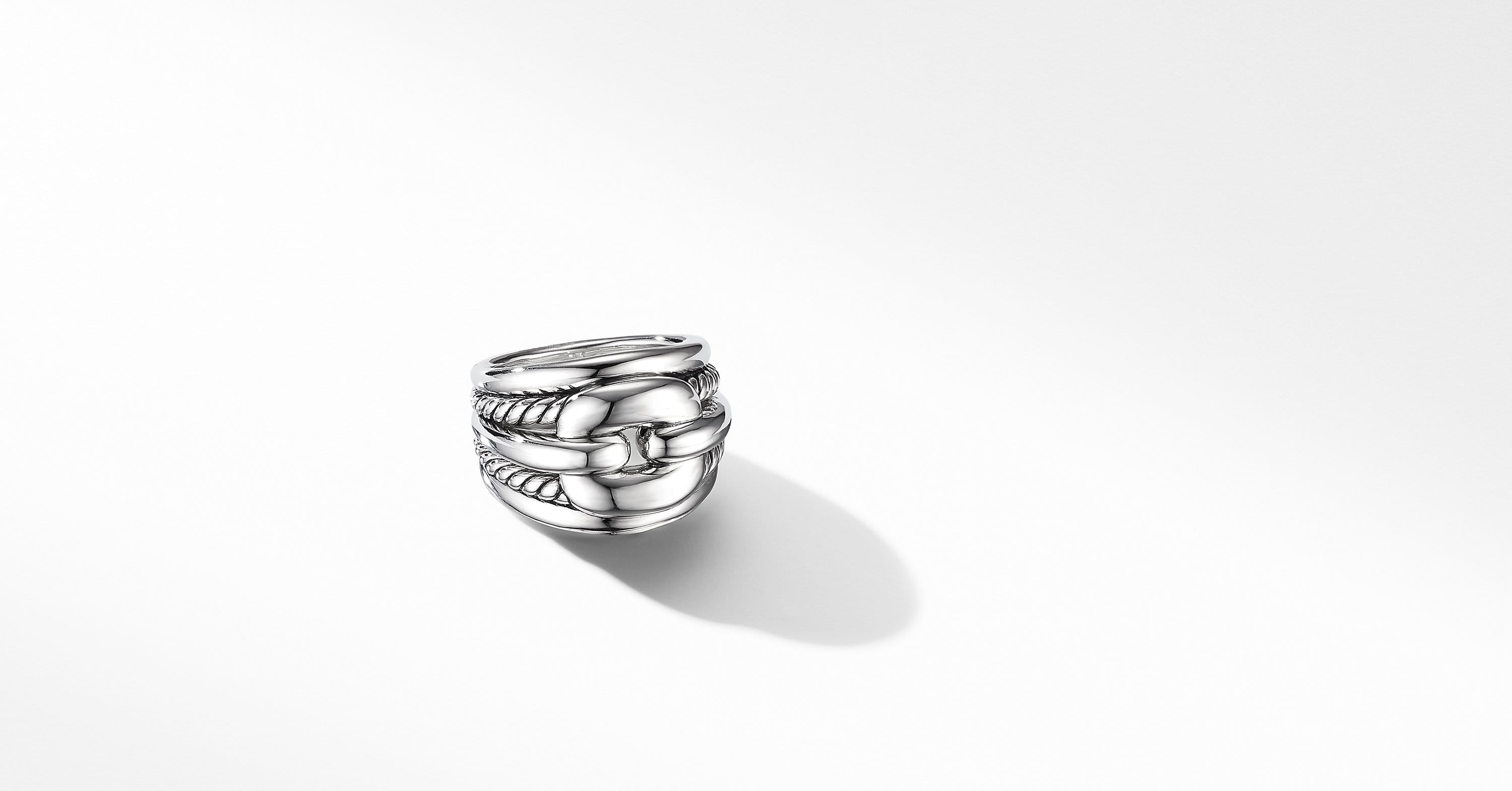 Thoroughbred Cushion Link Ring