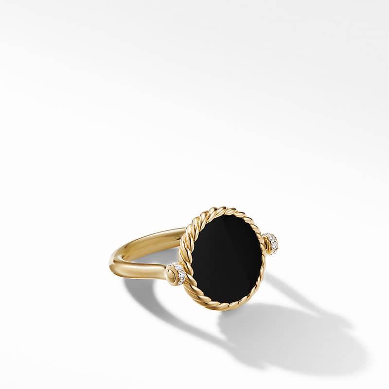 DY Elements® Ring in 18K Yellow Gold with
