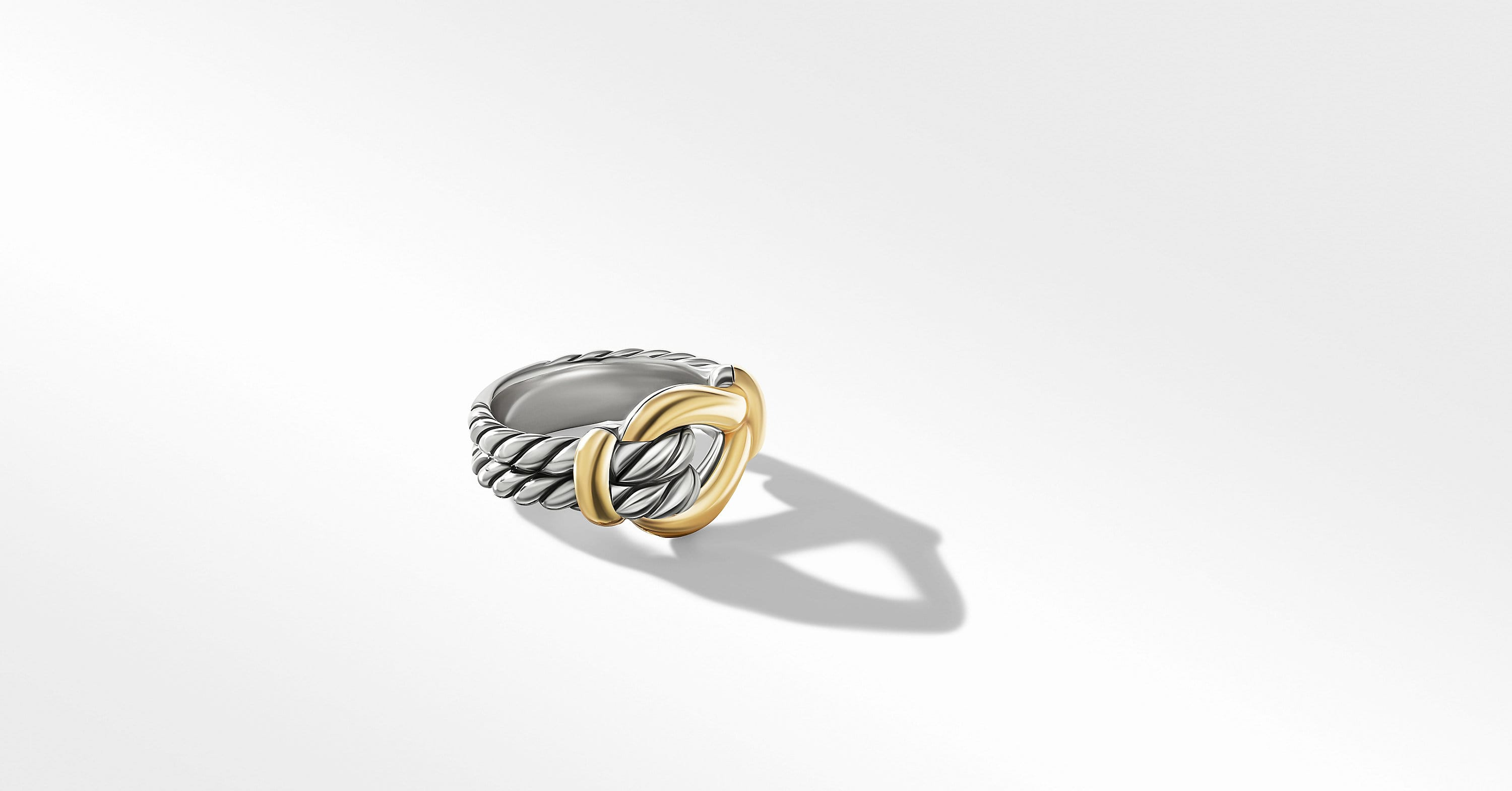 Thoroughbred Loop Ring with 18K Yellow Gold, 13mm