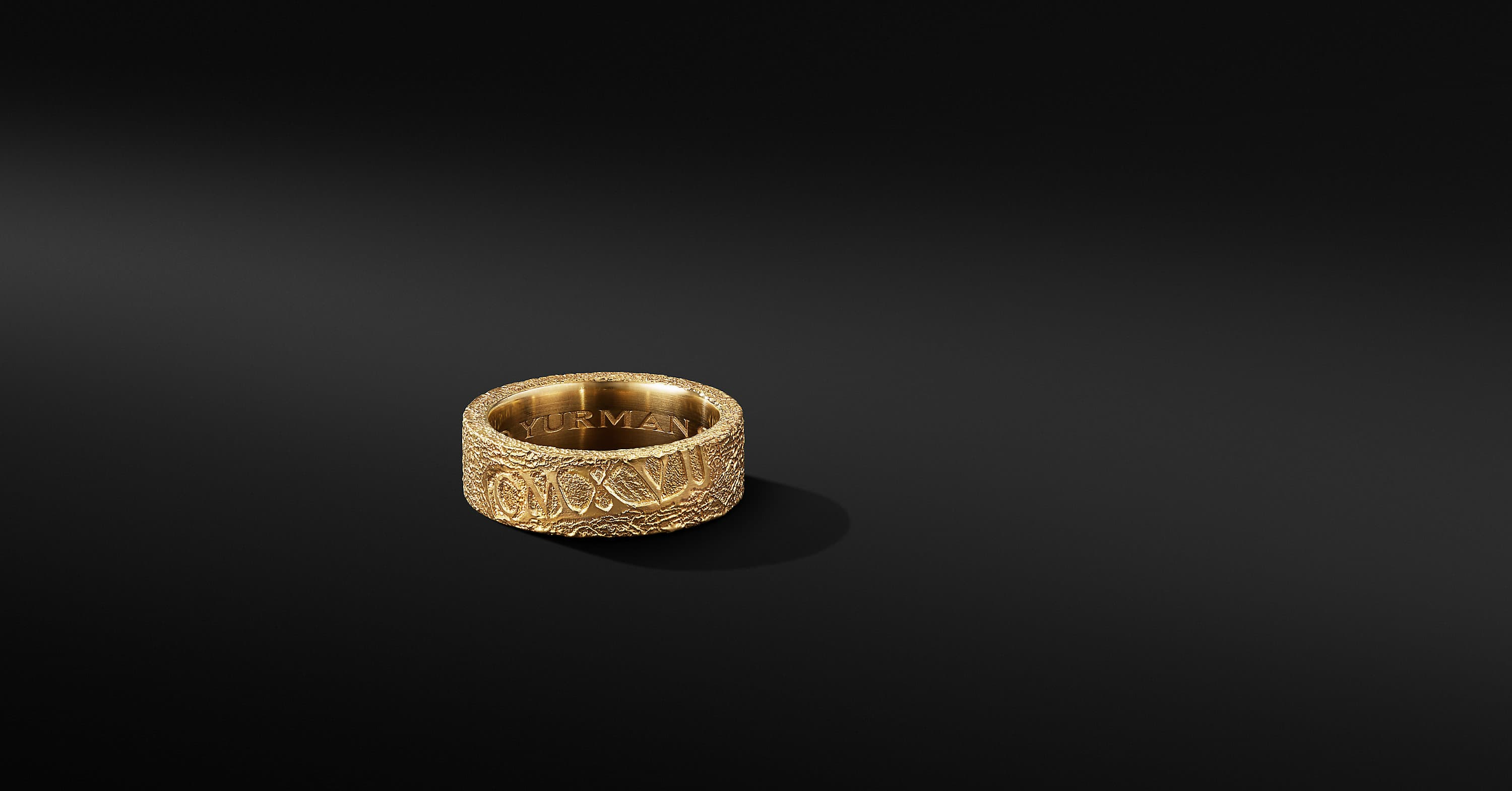 Shipwreck Band Ring in 22K Yellow Gold, 8mm