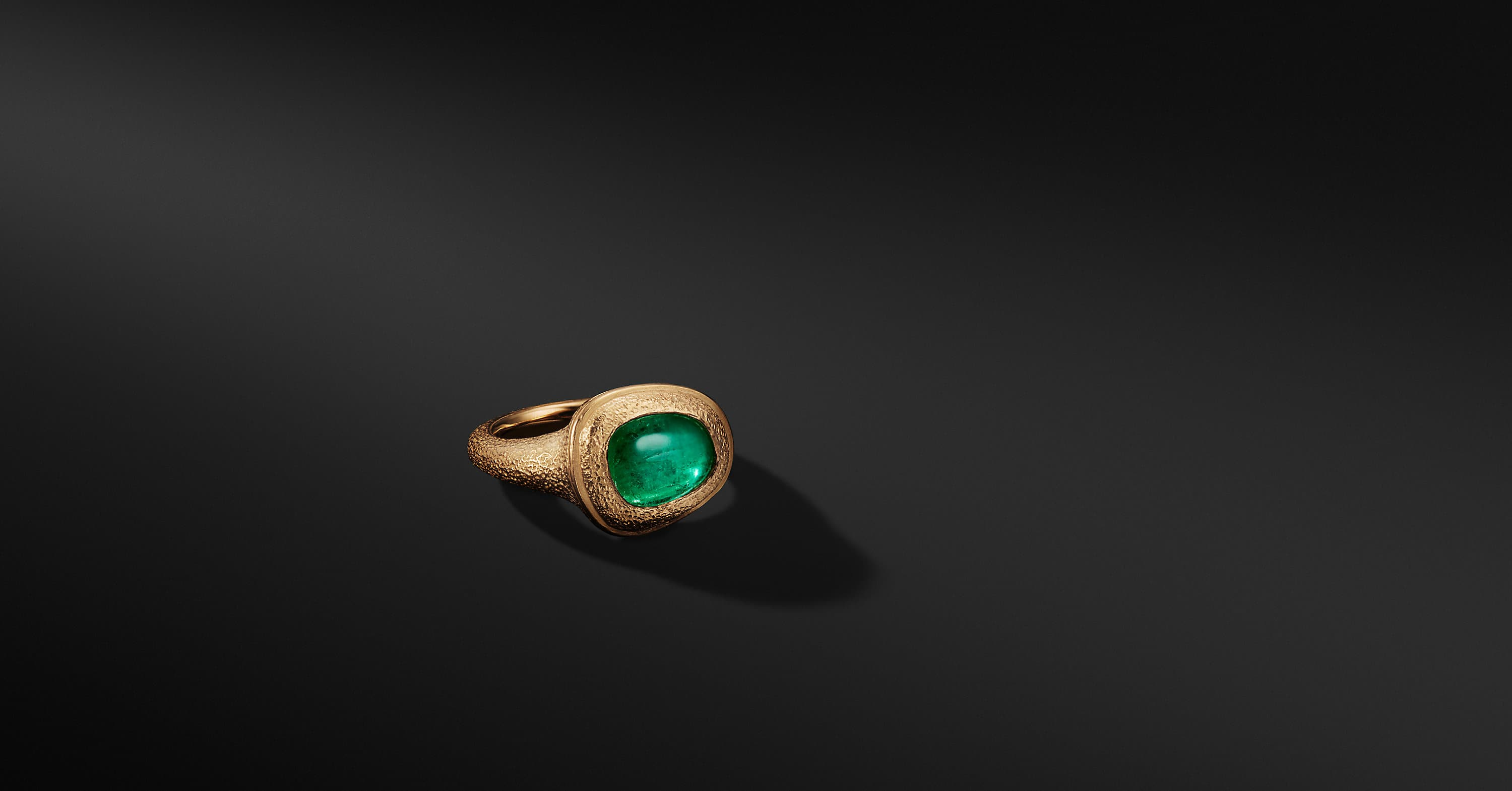 Shipwreck Signet Ring In 22k Gold