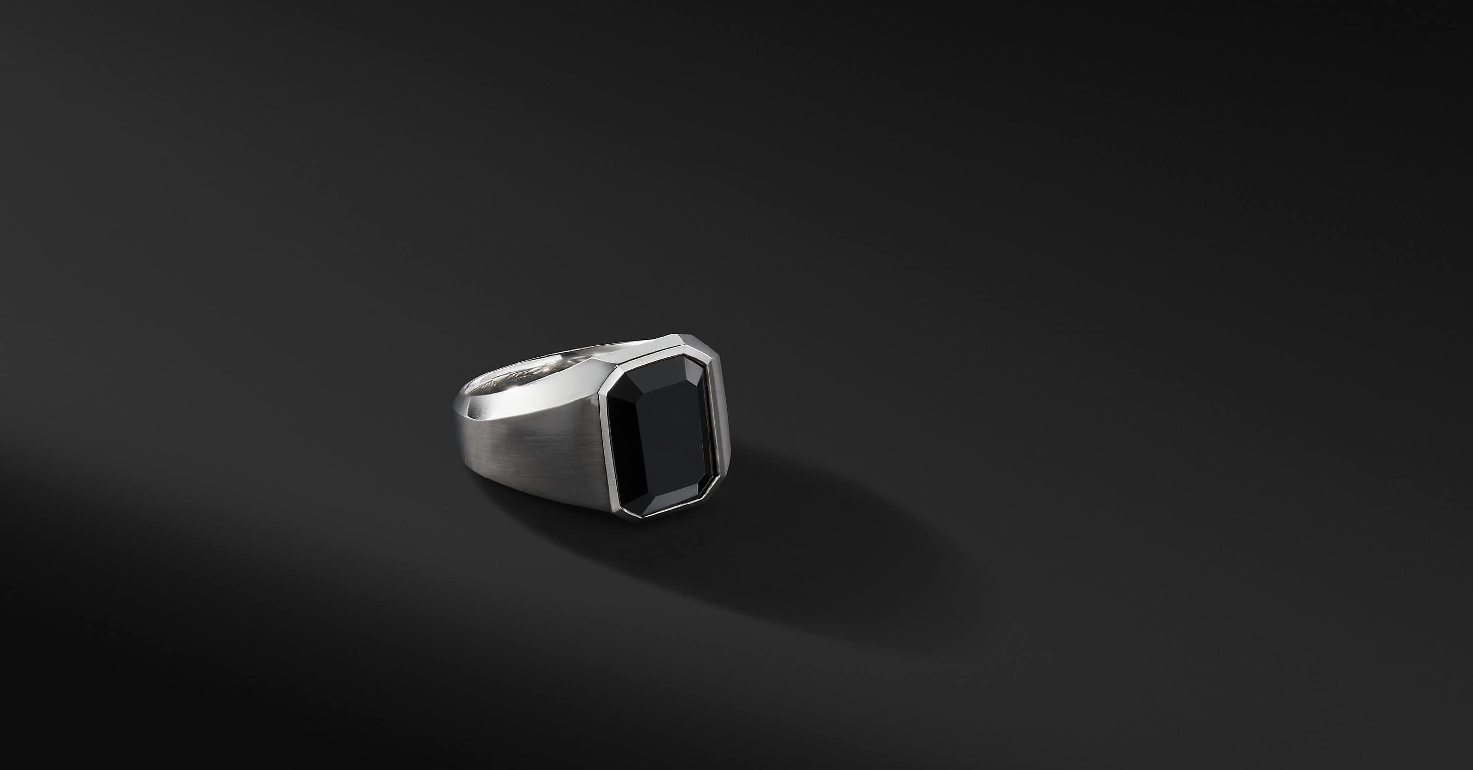 Streamline Signet Ring
