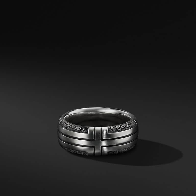 Southwest Band in Sterling Silver, 9mm
