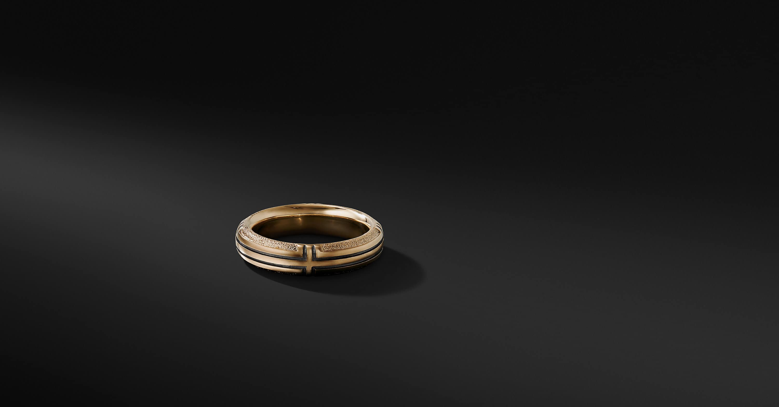 Southwest Band in 18K Gold, 6mm