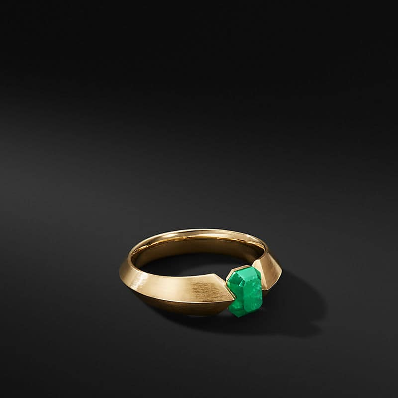 Roman Open Band in 18K Gold