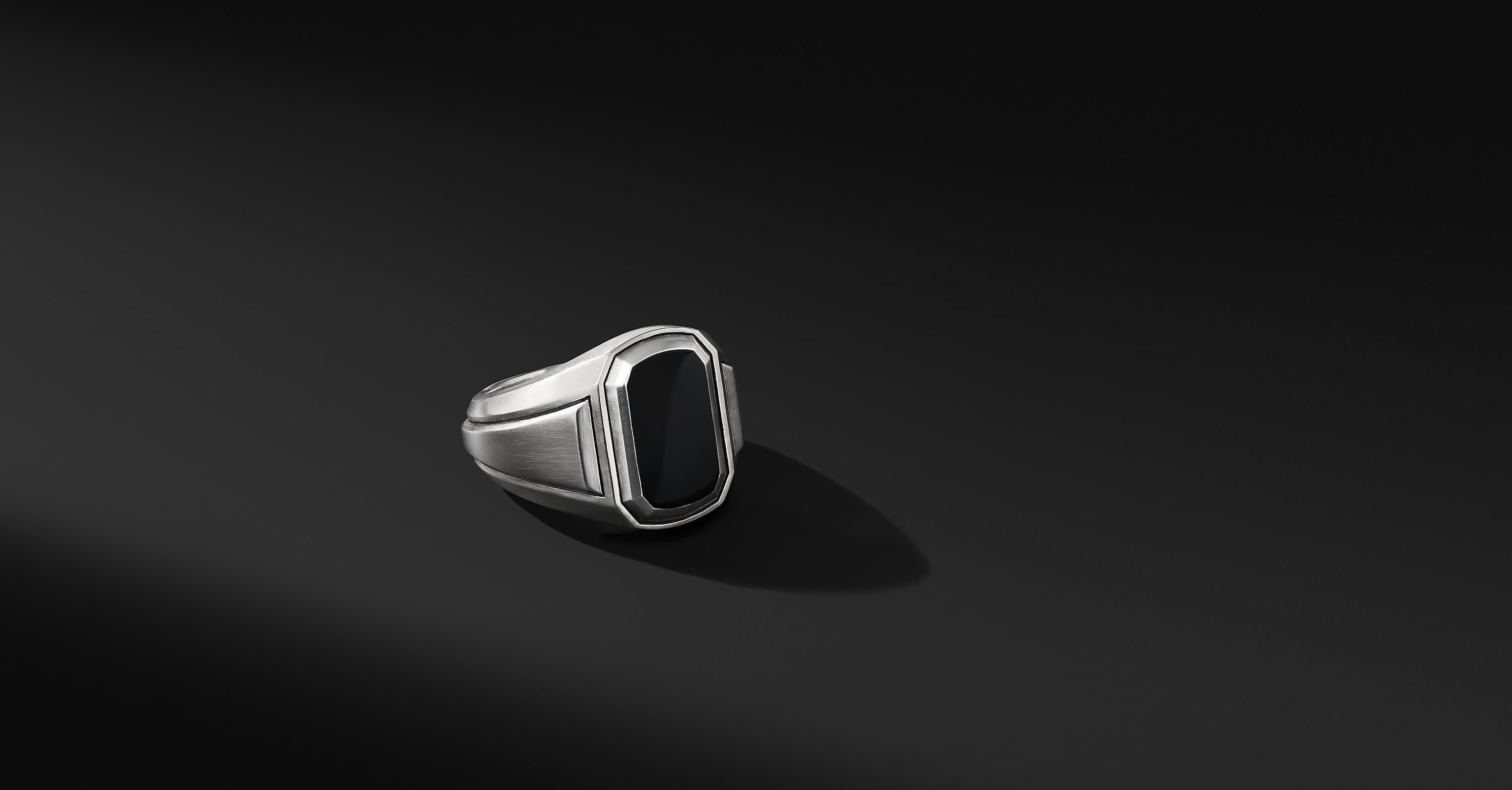 Deco Signet Ring