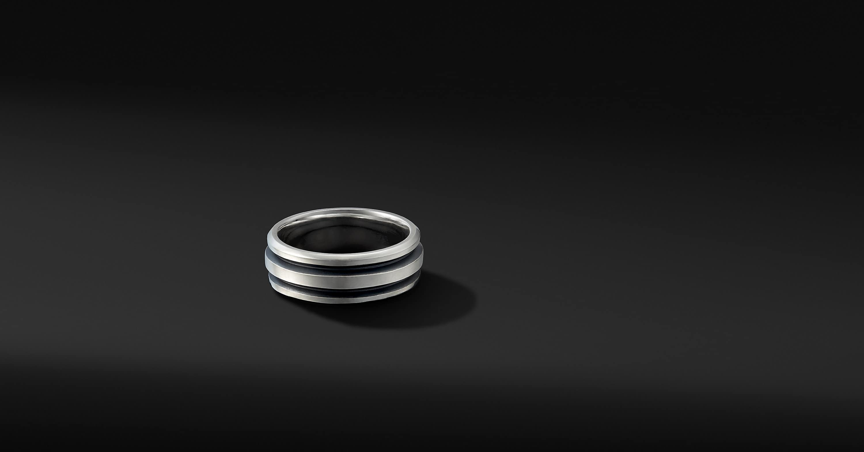 Deco Band Ring, 8.5mm