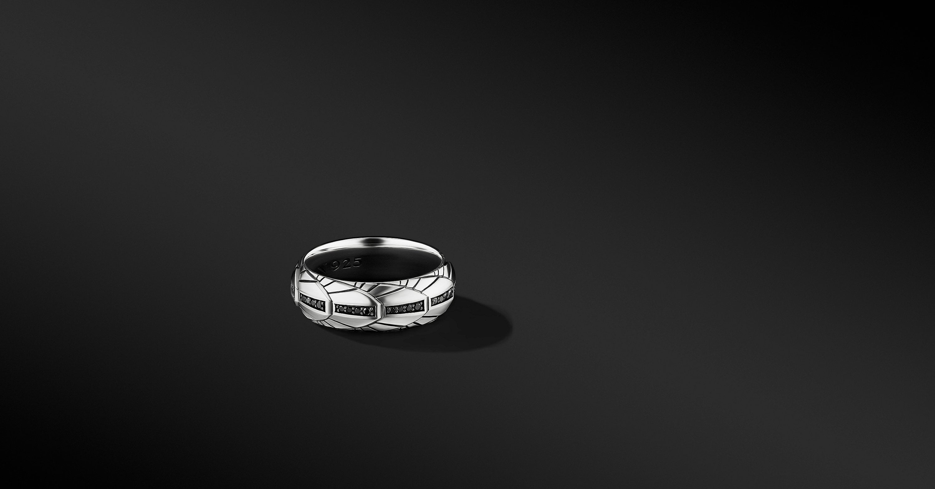 Empire Band Ring, 8mm
