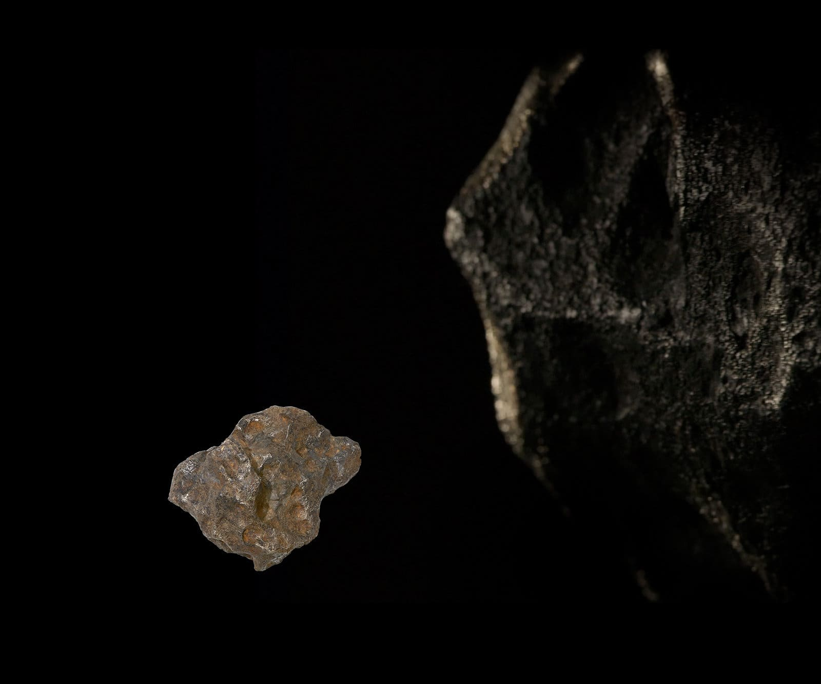 The Gibeon Meteorite.