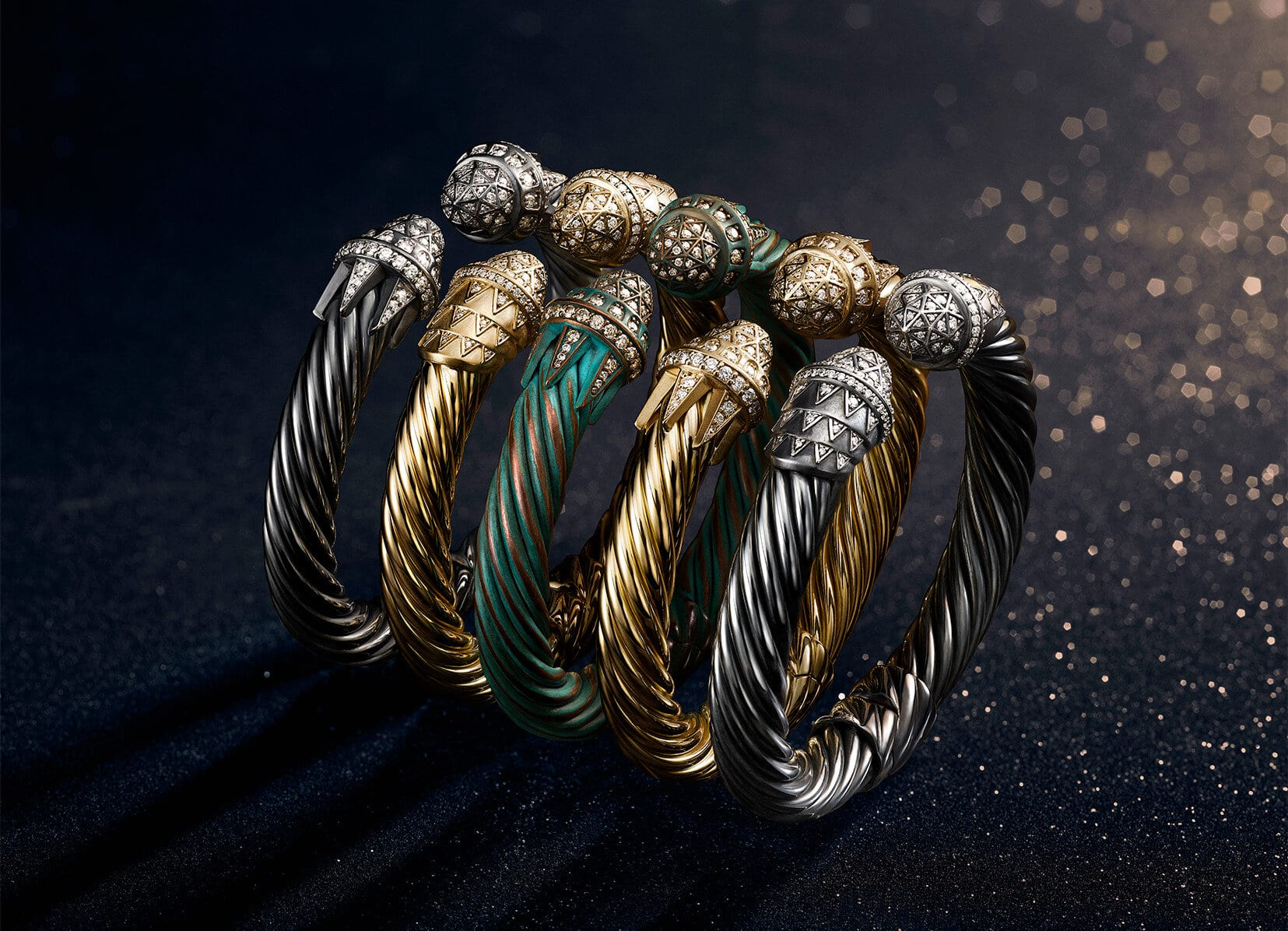 Un plan de Midtown avec une épingle indiquant la boutique phare David Yurman au 5 East 57th Street, New York, NY 10022.
