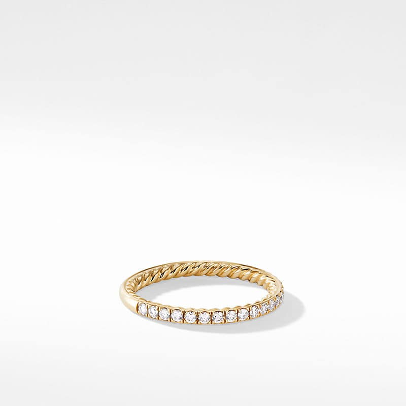 DY Eden Eternity Wedding Band with Diamonds in