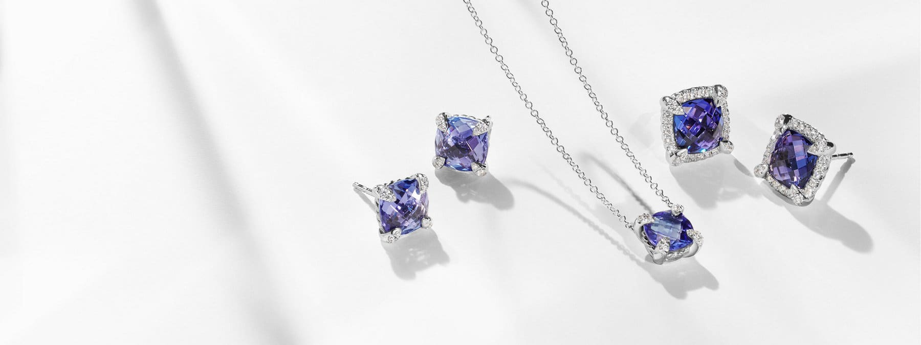 Celebrate December birthdays with tanzanite, a gemstone thought to bring transformation with its shifting hues of blue and purple.